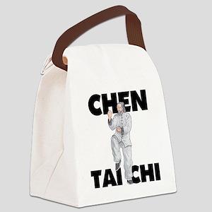ChenWhiteapeLight Canvas Lunch Bag