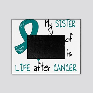 teal sister life Picture Frame