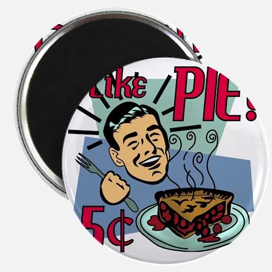 i-like-pie-smaller Magnet