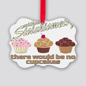CupcakeChemistry Picture Ornament