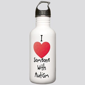 I love someone with au Stainless Water Bottle 1.0L