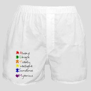 Autism Means Boxer Shorts