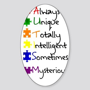 Autism Means Sticker (Oval)