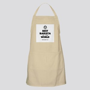 The Best in the World – Barista Apron