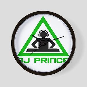 dj-prince-headphone-dark Wall Clock