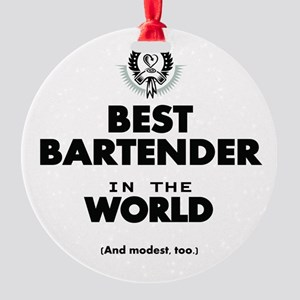 The Best in the World – Bartender Ornament
