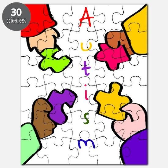 Autism Pieces Puzzle