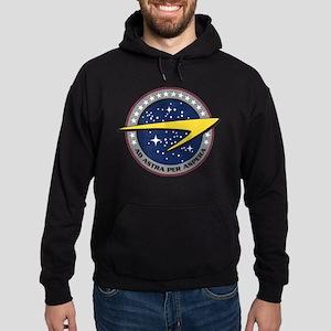 ENTERPRISE Starfleet Hoodie (dark)