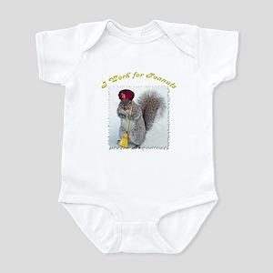 Grey Squirrel Infant Bodysuit