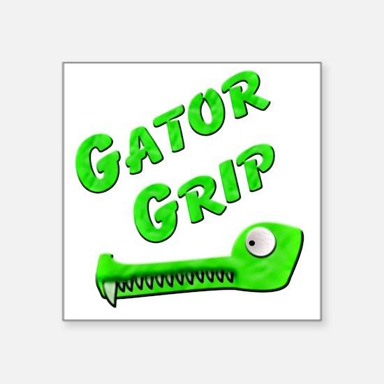 "Gator Grip Square Sticker 3"" x 3"""