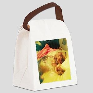 sleeping Canvas Lunch Bag