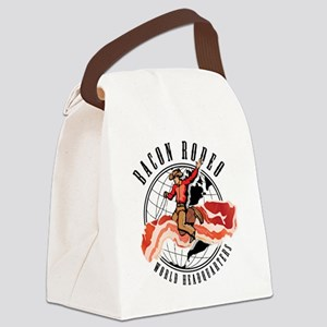 baconRodeo-2_sm Canvas Lunch Bag