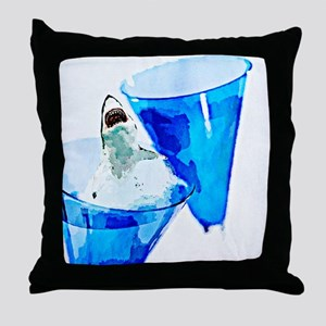 GREAT WHITE CHARDONNAY Throw Pillow