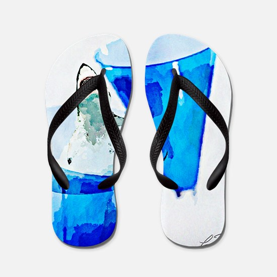 GREAT WHITE CHARDONNAY Flip Flops