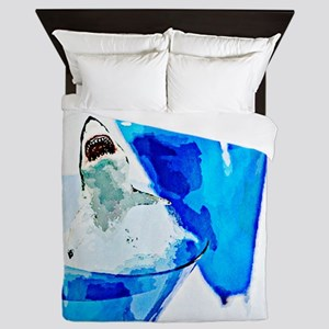 GREAT WHITE CHARDONNAY Queen Duvet