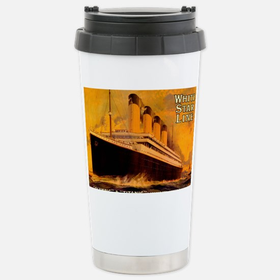 TGgoldLaptopskin Stainless Steel Travel Mug