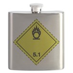 Oxidising Substance Pictogram Flask