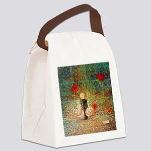 coupe-pierre-coquelicots-Lore-M-c Canvas Lunch Bag