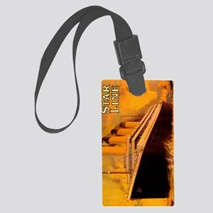 TgGoldipadsleeve Large Luggage Tag