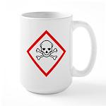 Toxic Substance Pictogram Large Mug