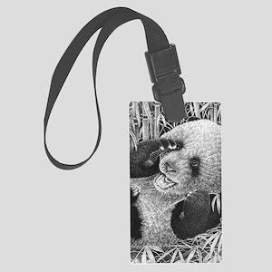 Giant Panda Cub  (ipad 2 folio c Large Luggage Tag