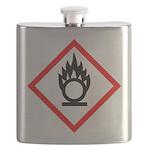 Oxidising Agent Pictogram Flask
