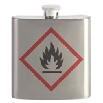 Flammable Substance Pictogram Flask