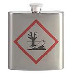 Environmental Hazard Pictogram Flask