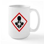 Health Hazard Pictogram Large Mug