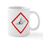 Explosive Substance Pictogram Mug
