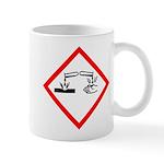 Corrosive Substance Pictogram Mug