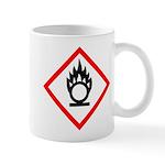 Oxidising Agent Pictogram Mug