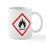 Flammable Substance Pictogram Mug