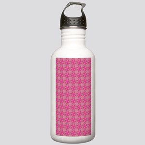 Pink Pattern Stainless Water Bottle 1.0L