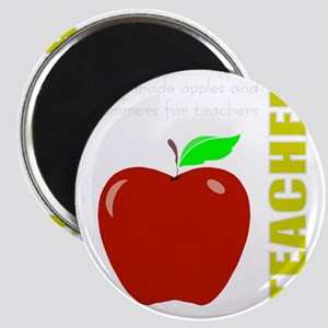 God, Teachers, apples Magnet