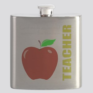God, Teachers, apples Flask