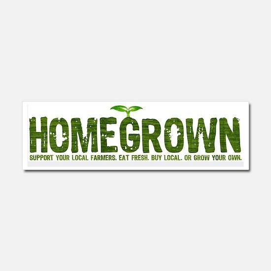 Homegrown Car Magnet 10 x 3