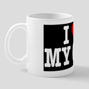 HeartCatCoinPurse Mug