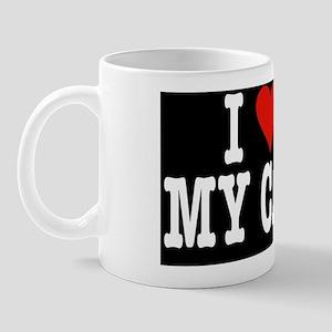 HeartCatMiniWallet Mug