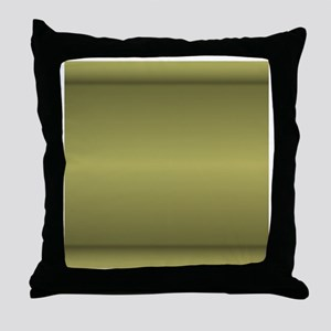 Muted green shower curtain 01013_0000 Throw Pillow