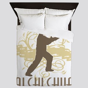 tai70dark Queen Duvet