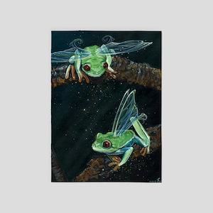 Wishing Frog II 5'x7'Area Rug