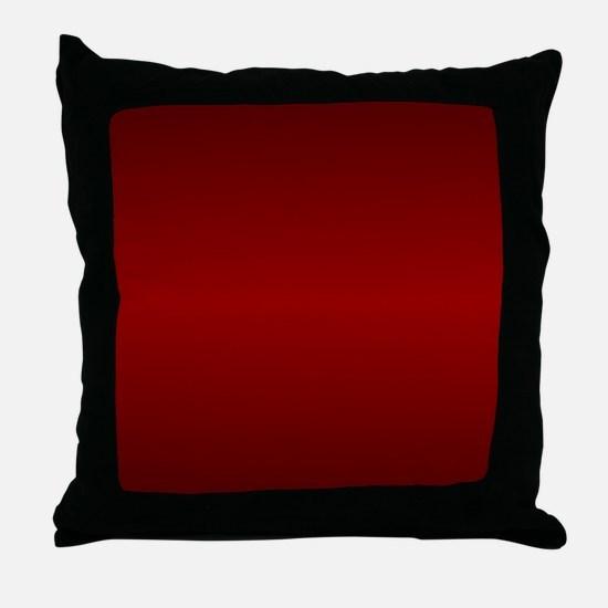 Maroon shower curtain 01015_00003_r Throw Pillow