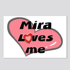 mira loves me  Postcards (Package of 8)