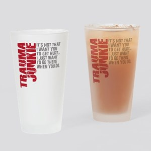 Trauma New DARK Drinking Glass