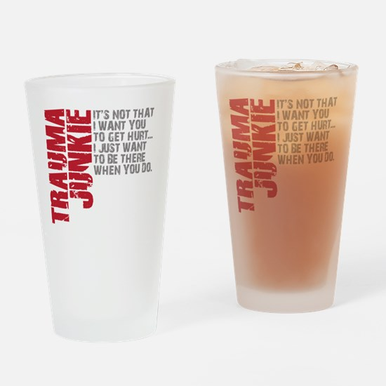 Trauma New DARK Drinking Glass