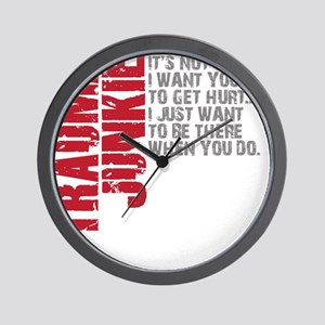Trauma New DARK Wall Clock
