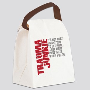 Trauma New DARK Canvas Lunch Bag