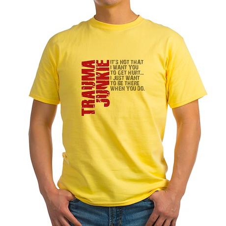 Trauma New DARK Yellow T-Shirt