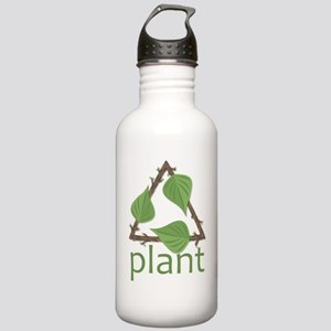 Plant Stainless Water Bottle 1.0L